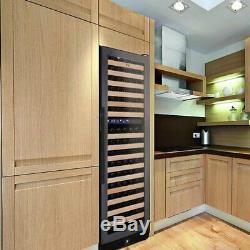 164 Bottle Large Wine Refrigerator With Glass Door