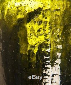 1840's Black Glass Quart Bottle By New York Bottlers Clarke & White
