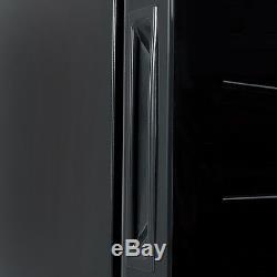 18 Bottle Thermoelectric Wine Cooler Freestanding Temperature Display Glass Door