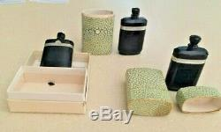3 Vintage Caron Nuit de Noel Perfume Baccarat Style Bottle/Box. 633 OZ 3 Box