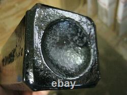 AWESOMEPONTILED BLACK GLASSJ. J. MELCHERS wzAROMATIC SCHNAPPSSCHIEDAM