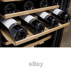 Allavino 48 Bottle Wine Cooler Refrigerator Stainless Steel Glass Door