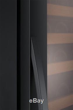 Allavino Classico Series 174 Bottle Wine Cooler Refrigerator Black Glass Door