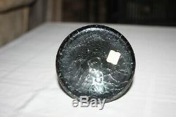 BLENKO 920 Charcoal Decanter With Stopper Mid Century Modern Art Glass Bottle