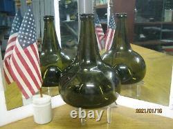 Best Ever Dug Florida Keys Shipwreckpontiled1700's Black Glass Dutch Onion
