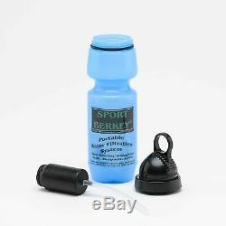 Big Berkey + Glass Spigot & 4 Black Filters + Bottle Bottle + Primer