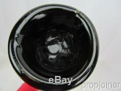Black Glass Mallet Bottle, Found In Charleston, S. C