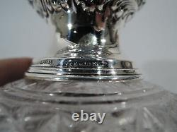Black Starr & Frost Perfume Antique Bottle American Sterling Silver ABC