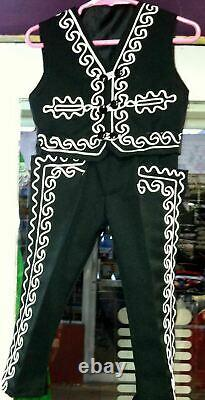 Boys Toddlers Mariachi Suit Set Mexico Folklorico 5 De Mayo Fiesta Dance Costume