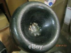 Dug On Fla Keys Shipwreck Find Pontiled Bulbous1700's Black Glass Dutch Onion