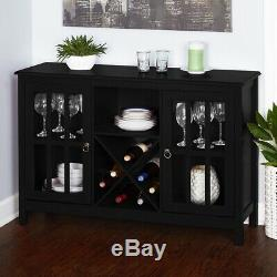 Surprising Farmhouse Wine Cabinet Storage Kitchen Dining Bottle Glass Home Interior And Landscaping Transignezvosmurscom