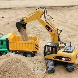 Fisca Rc Truck 6 Ch 24G Alloy Remote Control Dump Truck Excavator