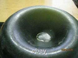 Fla Keys Shipwreck Find Pontiled Bulbous 1700's Black Glass Dutch Onion