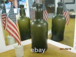 Fla Keys Shipwreck Ocean Findunusually Crudepontiledblack Glassutility/wine