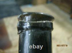 Fla. Keys Shipwreck/pirate Find 1820's Pontiledblack Glasscolonial Utility