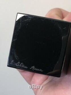 Flacon Mystère DOrsay Noir R. Lalique René Lalique Black Glass Perfume Bottle