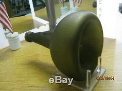 Florida Keys Island Dug Pontiled 1700-20black Glass Horse Hoof Dutch Onion