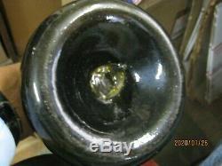Florida Keys Ocean Shipwreckpontiled 1700's Black Glass Horse Hoof Dutch Onion