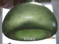 Florida Keys Shipwreck Dig Find Pontil1700's Bulbous Black Glass Dutch Onion