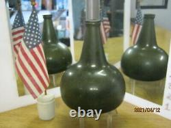 Florida Keys Shipwreck Ocean Find Pontiled 1700's Black Glass Dutch Onion Wine