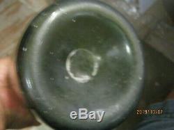 Florida Keys Shipwreck Pontil 1780's Black/olive Glassbelguim Bell Mallet