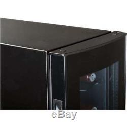 Haier 18-Bottle Dual Zone Curved Glass Door Wine Cellar Fridge (Open Box)