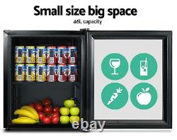 IGLOO 46L Glass Door Bar Fridge Mini Countertop Fridge CHILLER Bottle Cooler