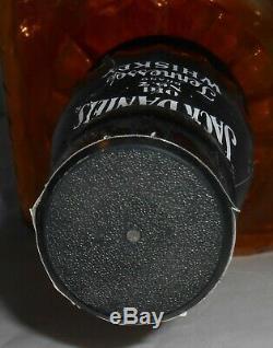 JACK DANIELS Old No. 7 Black Label 21 Tall Amber GLASS Display Bottle-21x7x7