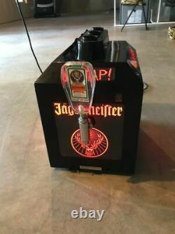 Jagermeister Shot Machine 3 Bottle Tap Machine Shot Glass Chiller Speed Pour