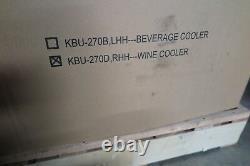 KingsBottle 73 Bottle Dual Zone Wine Cooler Refrigerator Glass door KBU-270D RHH