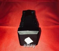 Lalique Lady Figural Ambre D'Orsay Black Glass Perfume Bottle NO RESERVE
