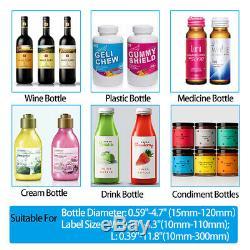 Manual Round Labeling Machine Handle Bottle Labeler Label for Glass Metal Bottle