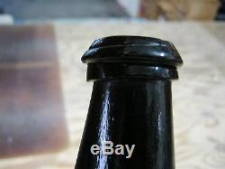 Mint Florida Keys Ocean Find Pontiled 1800black Glass True English Mallet