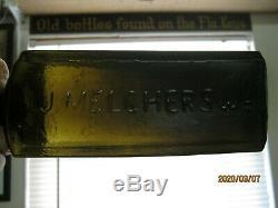 Mint Scarce Sizeblack Glassj. J. Melchers Aromatic Schnappsschiedam