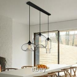 Modern Jar 3 Lights Chandelier Ceiling Pendant Lighting Kitchen Island Fixture