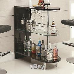 Modern Wine/Liquor Bar Table Room Divider Storage Display Bottle Glass Furniture