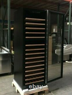 NEW 168 Wine Bottle Cooler Cabinet Glass Door Refrigerator NSF