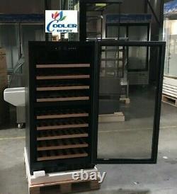 NEW 72 Wine Bottle Cooler Cabinet Glass Door Refrigerator NSF