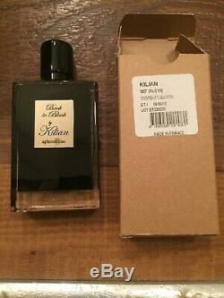 New BACK TO BLACK By Kilian TESTER Refill Bottle Glass Spray 100% AUTHENTIC! DS