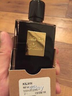 New MUSK OUD ByKilian TESTER Refill Bottle Glass Spray 100% AUTHENTIC! DS