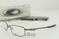 New Oakley BOTTLE ROCKET 2.0 Eye glasses #11-961 Black Chrome RX 50-18-120 withBox