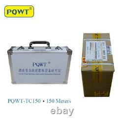 PQWT TC150 underground water detector Natural electric field frequency selection