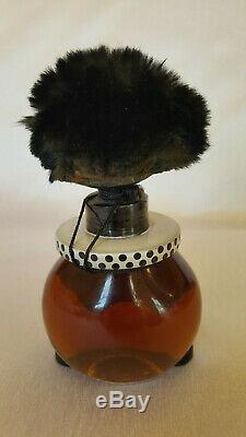 RARE French 1920's Largest 5 Full Bottle VIGNY Perfume Antique