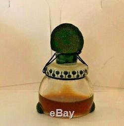 Rare Antique 19th c. Perfume Bottle African American Black Americana