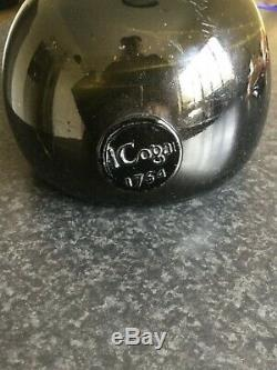 Rare near mint I Cogai 1754 sealed black glass onion bottle from England