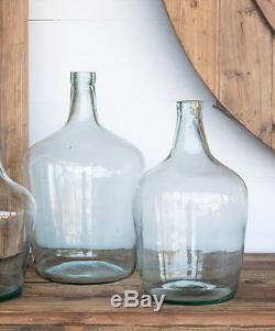 Recycled Glass Cellar Bottle Vase