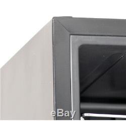 SMAD 35 Bottles Wine Cooler Cellar Fridge Refrigerator Compressor Glass Door Bar