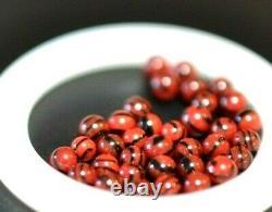 Stuckenberg Glass Bottle Marble Set/. 117black Cherry&cranberry-34 Micro Marbles
