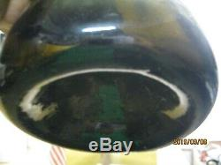 Superb Sand Pontiledcirca 1750'sbrilliant Black Glass True English Mallet