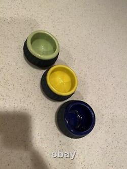 Very Rare Set of 3 Clase Azul Durango Edition Snifter Shot Glass New
